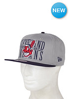 NEW ERA Mlb Step Over Snap 2 Cleveland Indians Cap grey/team