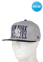 NEW ERA Mlb Step Over Snap 2 New York Yankees Cap grey/team