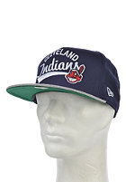 NEW ERA MLB Superscript Cleveland Indians Snapback Cap team/heather grey
