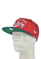 NEW ERA MLB Superscript Philadelphia Phillis Snapback Cap scarlet/blue royal