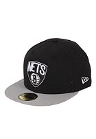 NEW ERA NBA Basic Brooklyn Nets Cap black / grey