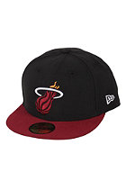 NEW ERA NBA Basic Miami Heat black / red