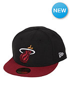 NEW ERA NBA Basic Miami Heat Cap black / red