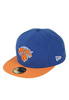 NEW ERA NBA Basic NY Knicks Cap blue / orange