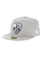 NEW ERA NBA Basic Reverse Brooklyn Nets Team Fitted Cap grey