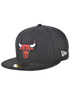 NEW ERA NBA Basic Reverse Chicago Bulls Team Fitted Cap black