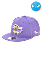 NEW ERA NBA Basic Reverse Los Angeles Lakers Team Fitted Cap purple