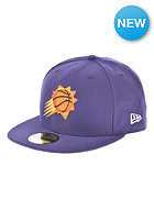 NEW ERA NBA Basic Reverse Phoenix Suns Team Fitted Cap purple