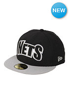 NEW ERA NBA Brooklyn Nets Edge Up Fitted Cap team