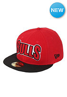 NEW ERA NBA Chicago Bulls Edge Up Fitted Cap team