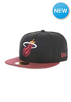 NEW ERA NBA Tonalzebra Miami Heat OTC Fitted Cap multicolors