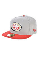 NEW ERA Neon Logo Pop San Fransisco 49ers Team Fitted Cap blue