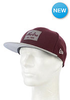NEW ERA New Era Patcher 9Fifty Snapback Cap maroon/heather grey