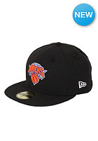 NEW ERA New York Knicks NBA Basic Seasonal Fitted Cap black/team