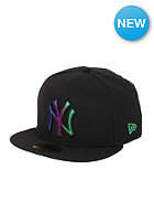 New York Yankees Fade A Grade Fitted Cap black