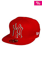 NEW ERA New York Yankees Felt App Cap scarlet/kelly/white