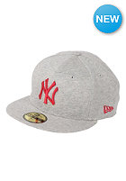 NEW ERA New York Yankees Jersey Pop Fitted Cap grey/scarlet