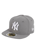 NEW ERA New York Yankees League Cap stormgray/white