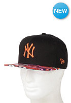 NEW ERA New York Yankees Multi Zag Cap black/orange pop