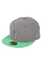 NEW ERA New York Yankees Poptonal Cap strmgray/islgrn