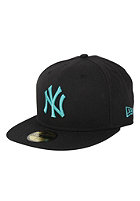 NEW ERA New York Yankees Seas Bas Cap blk/isl grn