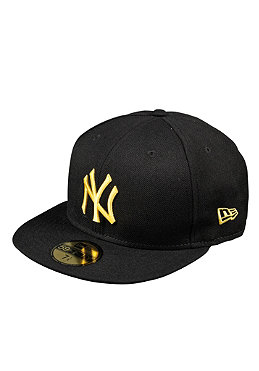 NEW ERA New York Yankees Season Basic MLB Cap black/ yellow