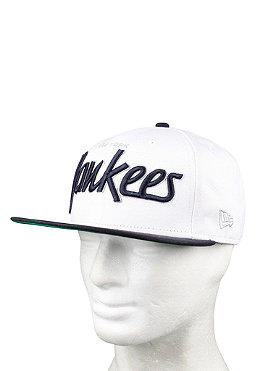 NEW ERA New York Yankees Team Script Cap white