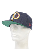 NEW ERA NFL Denim Washington Redskins Snapback Cap navy