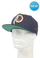 NEW ERA NFL Denim Washington Redskins Snapback Cap navy