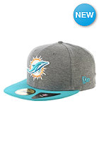 NEW ERA NFL Jersey Miami Dolphines Fitted Cap grey/team