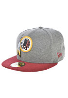 NEW ERA NFL Jersey Washington Redskins Fitted Cap grey/team