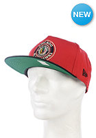 NEW ERA NHL Circle Snap Reverse Chicago Blackhawks Team Snapback Cap team color