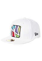 NEW ERA NY Yankees 4 Corners Cap white/multi