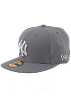 NEW ERA NY Yankees Fitted Cap light grey/white 