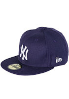 NEW ERA NY Yankees Fitted Cap purple/white