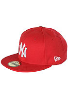 NEW ERA NY Yankees Fitted Cap scarlet/white 
