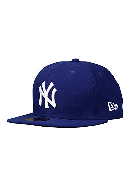 NEW ERA NY Yankees League Basic Cap dark royal/white