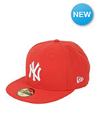 NEW ERA NY Yankees League Basic MLB Fitted Cap glaze red