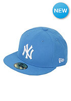 NY Yankees League Basic MLB Fitted Cap snapshotblue