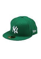 NEW ERA NY Yankees Logo Fitted Cap green/white