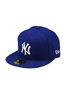 NEW ERA NY Yankees Logo Fitted Cap royal/white