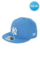 NEW ERA NY Yankees MLB League Basic Fitted Cap snapshotblue