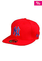 NEW ERA NY Yankees Polo Pique Cap scarlet/ryl/white