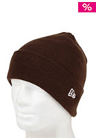 NEW ERA Original Cuff Knit Cap brown