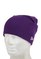 NEW ERA Original Long Knit 3 Cap deep purple