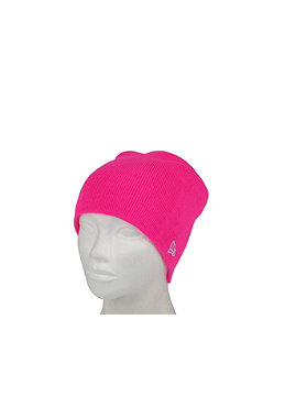 NEW ERA Original Long Knit 3 Cap pink