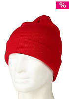 NEW ERA Original Long Knit 3 Cap scarlet