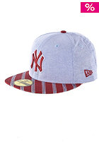 NEW ERA Oxford Prep NY Yankees Cap blue/cardinal