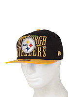 NEW ERA Pitsburgh Steelers Step Over Snapback Cap team