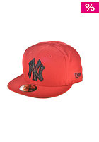NEW ERA Plaid Fill NY Yankees Cap scarlet/black